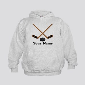 Personalized Hockey Kids Hoodie